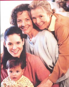 Aging Women - 5 generations of a family